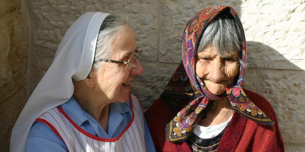 Beit Emmaus_Liebevolle Pflege im Westjordanland