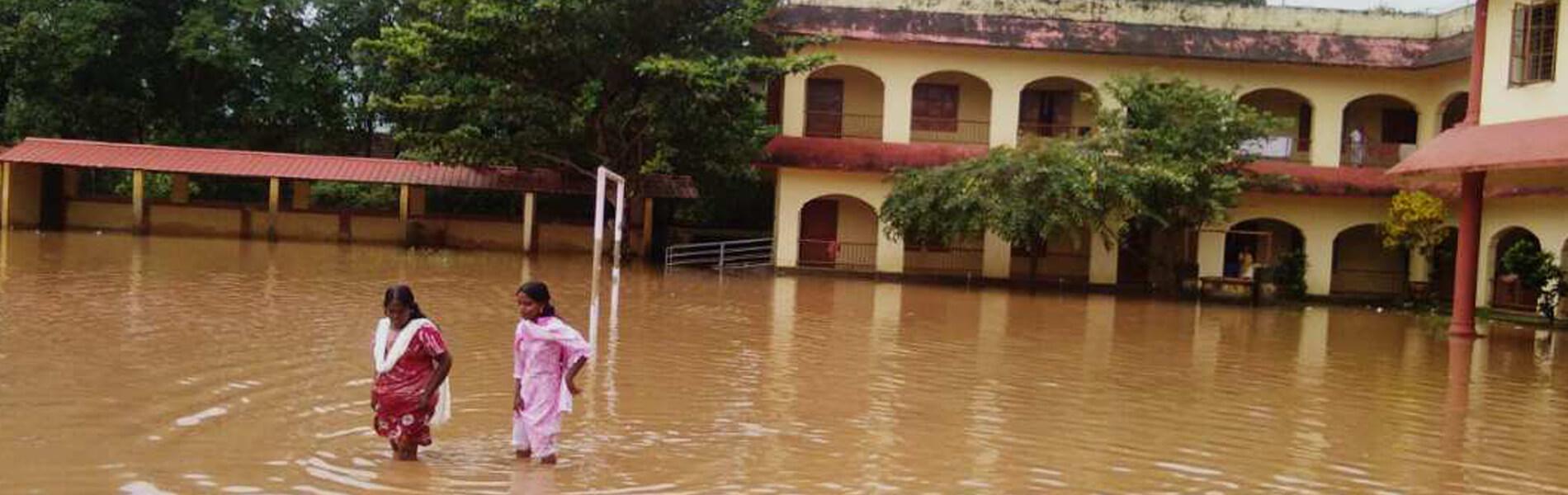 Flutkatastrophe in Indien